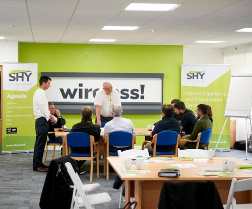 Expert session on the technical and installer information for SHY's new wireless rooflight blind