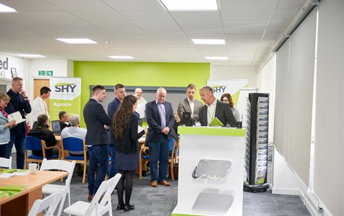 Tour of SHY's roller blind and rooflight products